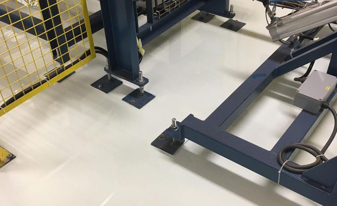 Sistem epoxidic autonivelnt – Belgia – EMS Floor Group-12