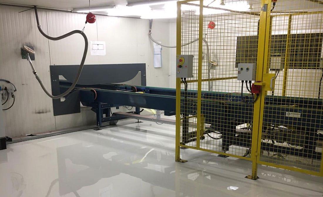 Sistem epoxidic autonivelnt – Belgia – EMS Floor Group-13