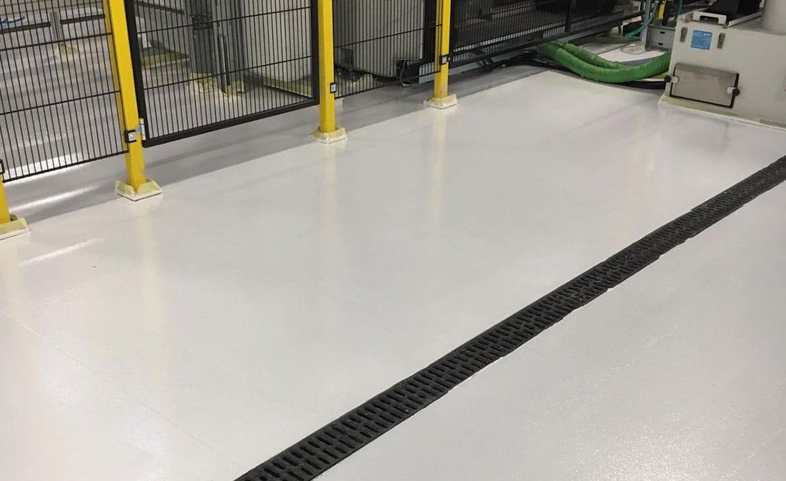 Sistem epoxidic autonivelnt – Belgia – EMS Floor Group-23