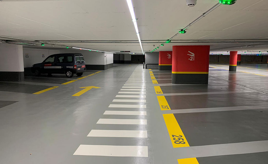 Parking Roosevelt BELGIA - EMS Floor Group