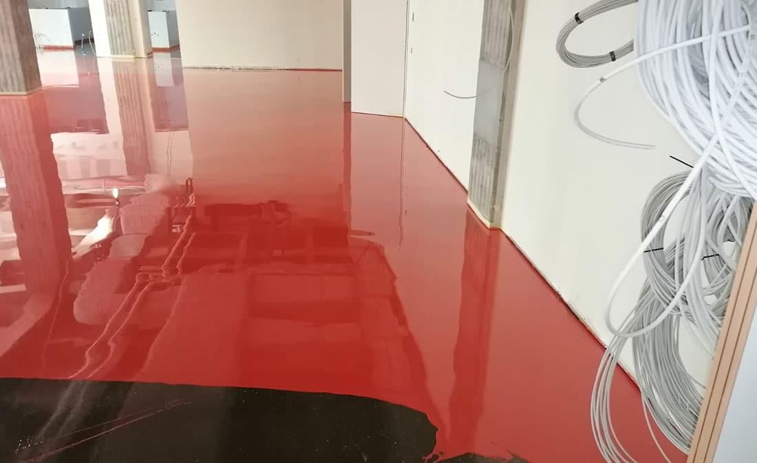 Sistem Autonivelant Poliuretanic - Campus Saint Michel - EMS Floor Group