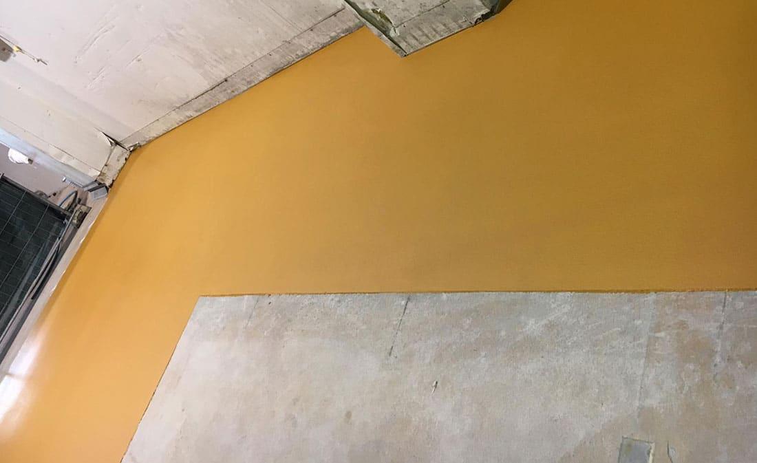 Sistem Pardoseli poliuretanice pe bază de mortare poliuretanice presărate și sigilate – Belgia – EMS Floor Group-5