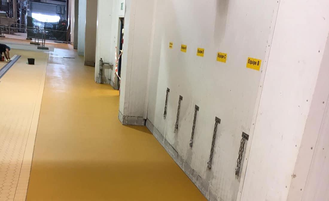 Sistem Pardoseli poliuretanice pe bază de mortare poliuretanice presărate și sigilate – Belgia – EMS Floor Group-7