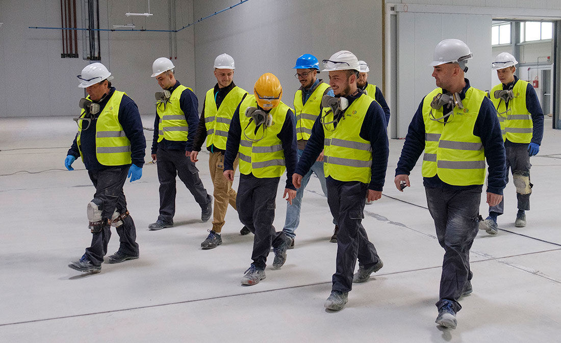 Sistem- vopsitorie epoxidica in strat subtire - Sibiu - EMS Floor Group